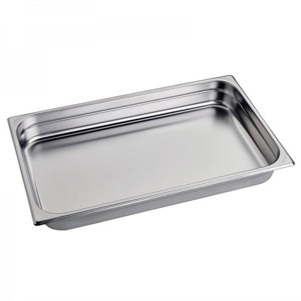 Gastro M Edelstahl GN-Behälter 6,5cm GN1/1