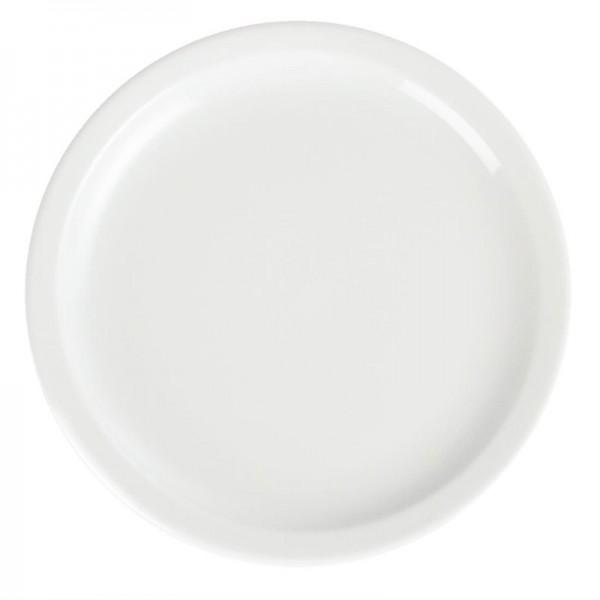Olympia Whiteware Teller mit schmalem Rand 23cm