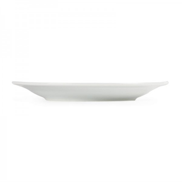 Olympia Whiteware Teller mit breitem Rand 16,5cm