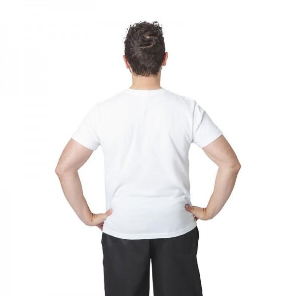 Unisex T-Shirt weiß XL