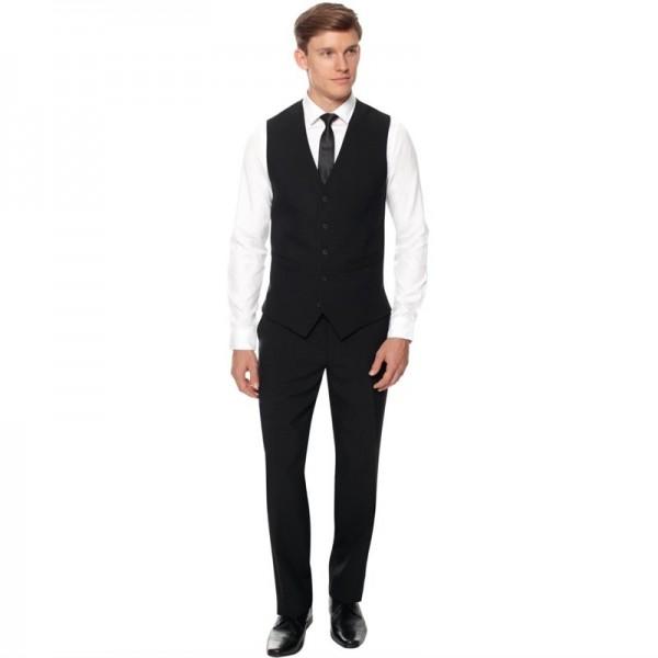 Herren Kellnerhose schwarz Standardlänge 38