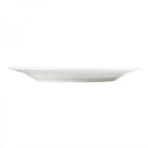 Olympia Whiteware Teller mit breitem Rand 31cm