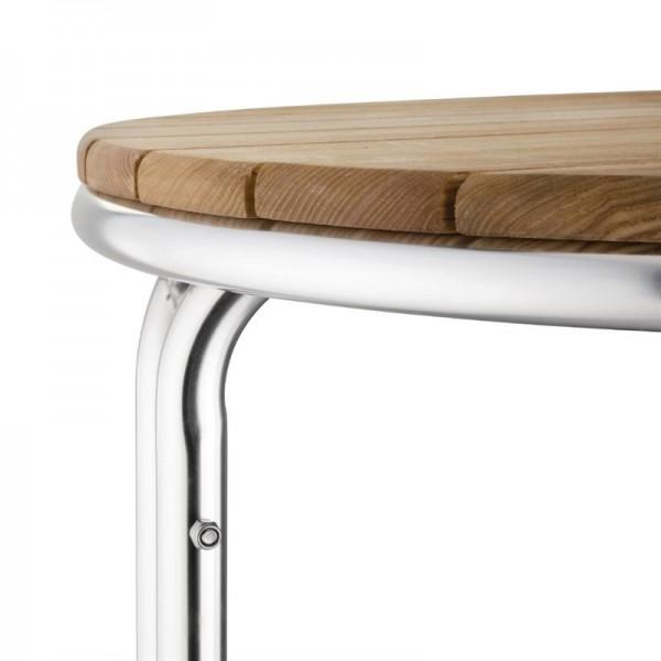 Bolero runder Tisch Eschenholz 3 Beine 60cm