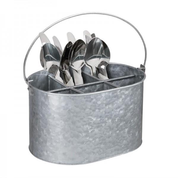 Olympia Behälter für Besteck und Gewürze Stahl