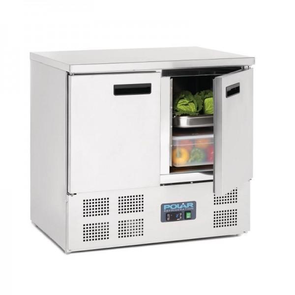 Polar Serie G Kühltisch 2-türig 240 Liter