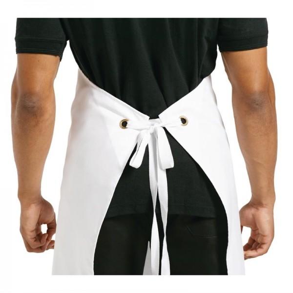 Whites Latzschürze weiß XL