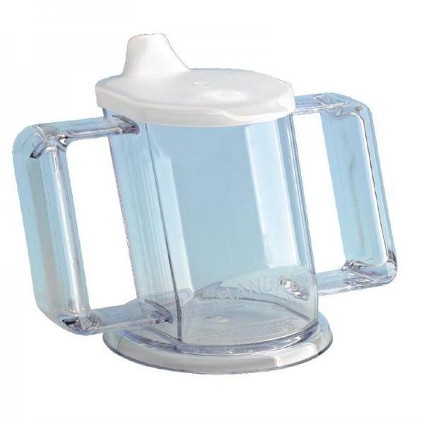 Praktischer Becher transparent 20cl