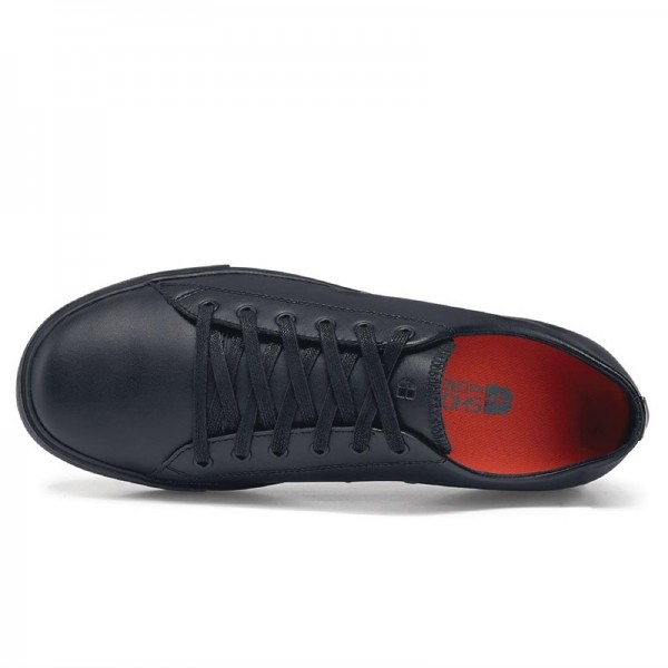 Shoes for Crews traditionelle Herrensneaker schwarz 44