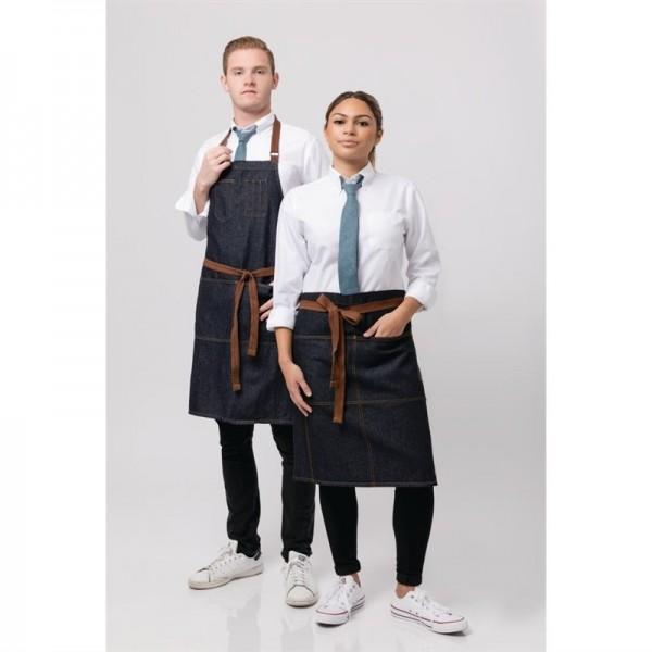 Chef Works Urban Memphis Latzschürze indigo