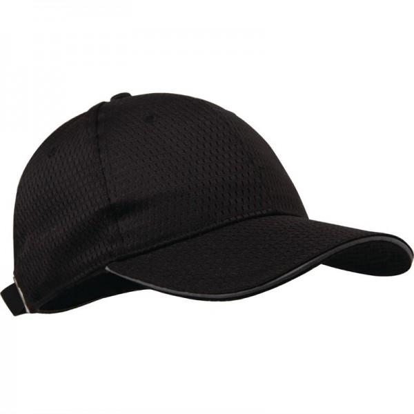 Chef Works Cool Vent Baseballcap schwarz-grau