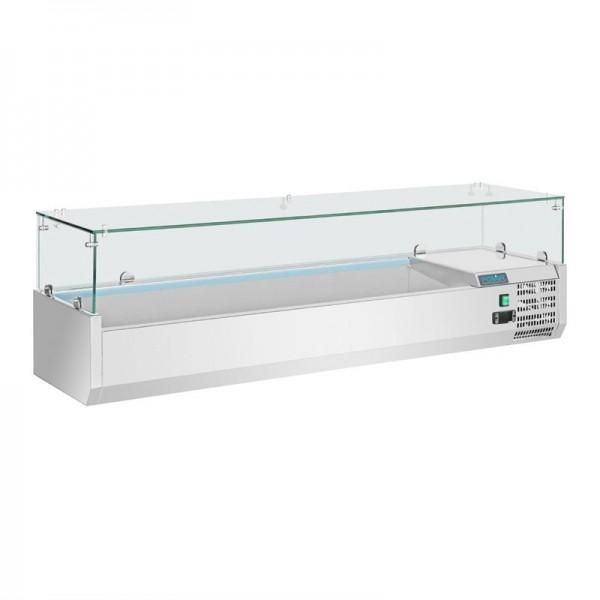 Polar Aufsatzkühlvitrine für 5x GN1/3 und 1x GN1/2