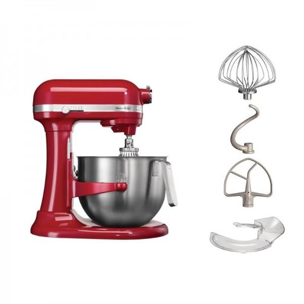 KitchenAid Heavy Duty Küchenmaschine rot 6,9L