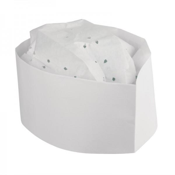Plastico Einweg-Kochmütze Papier Schiffchen