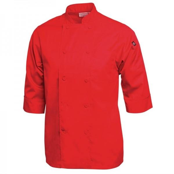 Chef Works Unisex Kochjacke rot M