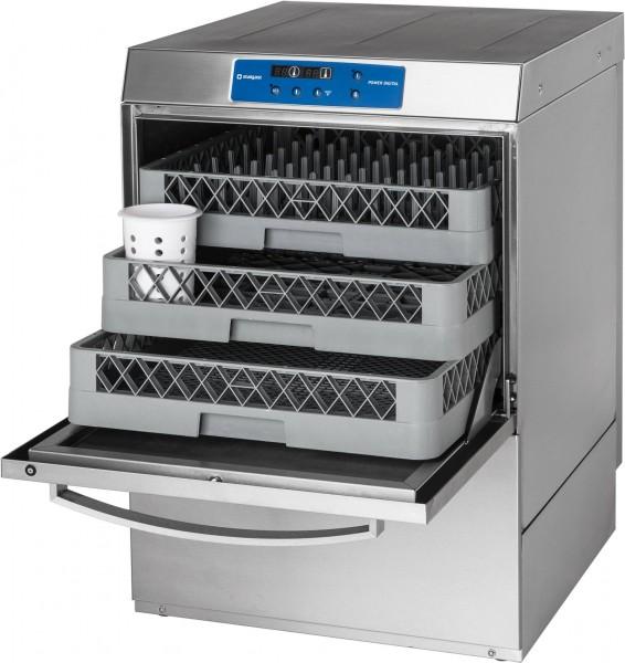 Geschirrspülmaschine DigitalPower inkl. Klarspülmitteldosier-,Reinigerdosier-, Klarspülpumpe, 400V,