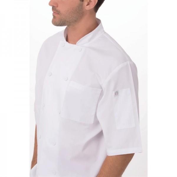 Chef Works Montreal Kochjacke kurze Ärmel weiß XS