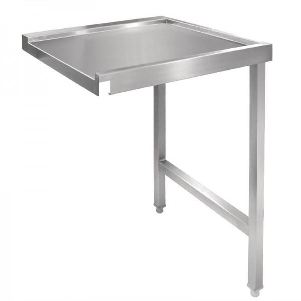 Vogue Tisch für Haubenspülmaschine links 110cm