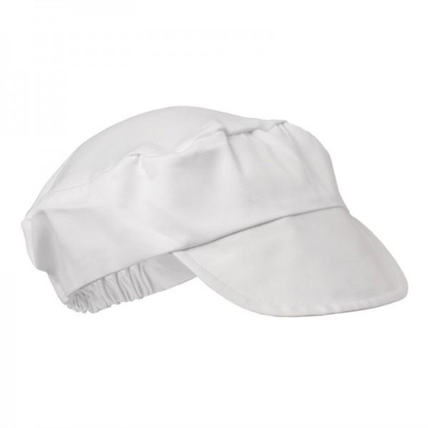 Whites Bäckermütze weiß