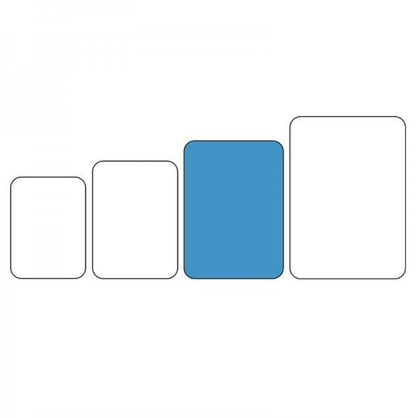Servierschale ABS Kunststoff weiß 41 x 30 x 2.5cm