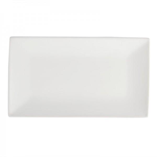 Olympia Whiteware rechteckige Servierteller 31 x 18cm