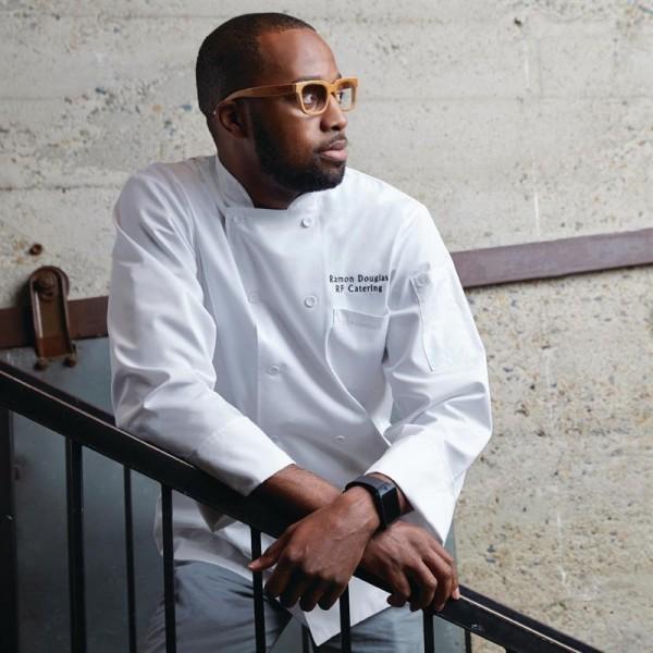 Chef Works Calgary Cool Vent Unisex Kochjacke Weiß M