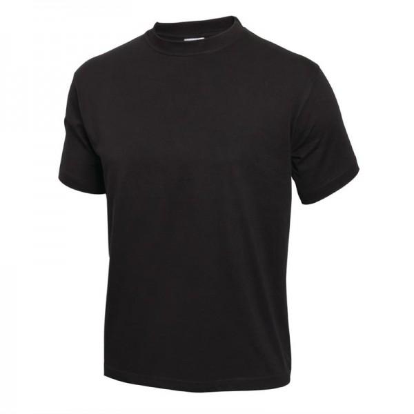 Unisex T-Shirt schwarz XL