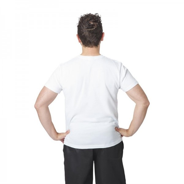 Unisex T-Shirt weiß L