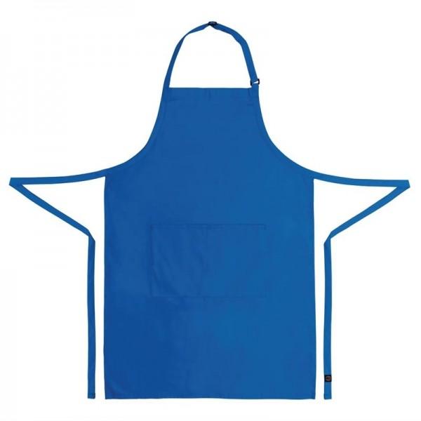 Chef Works verstellbare Latzschürze blau