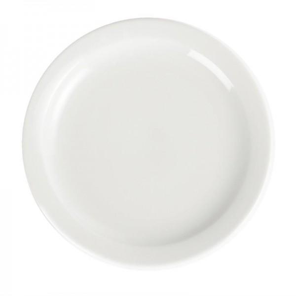 Olympia Whiteware Teller mit schmalem Rand 20cm