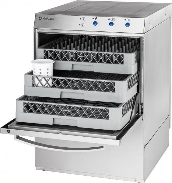 Geschirrspülmaschine inkl. Klarspülmitteldosier-, Reinigerdosier-, Klarspü/Drucksteigerungspumpe- un