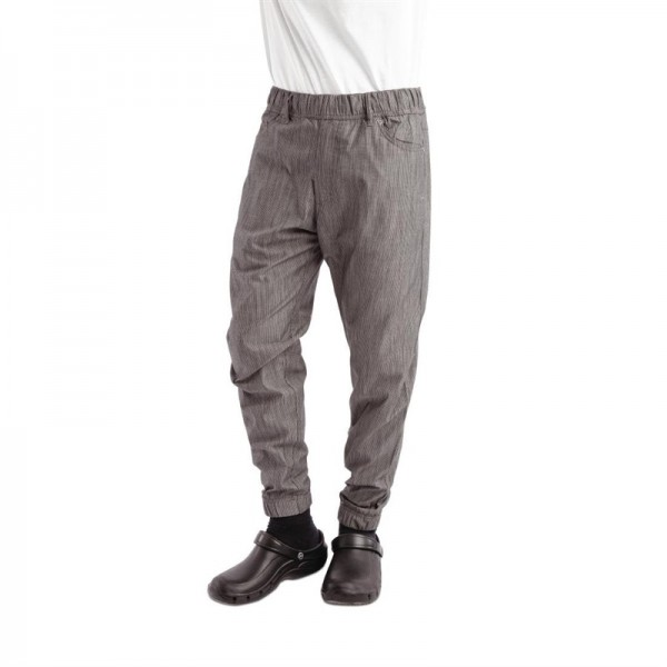 Chef Works Urban Jogger 257 Kochhose schwarz-weiß gestreift XL