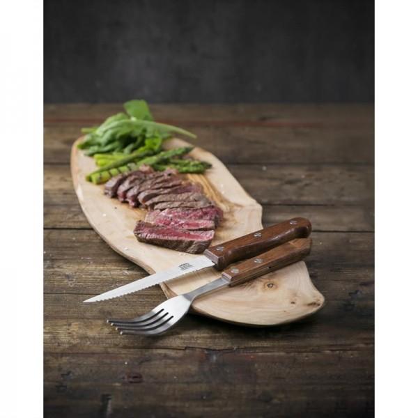 Olympia Steakmesser mit Holzgriff 11,5cm