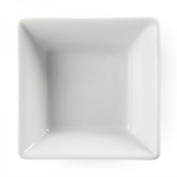 Olympia Whiteware quadratische Amuseschälchen 7,5cm