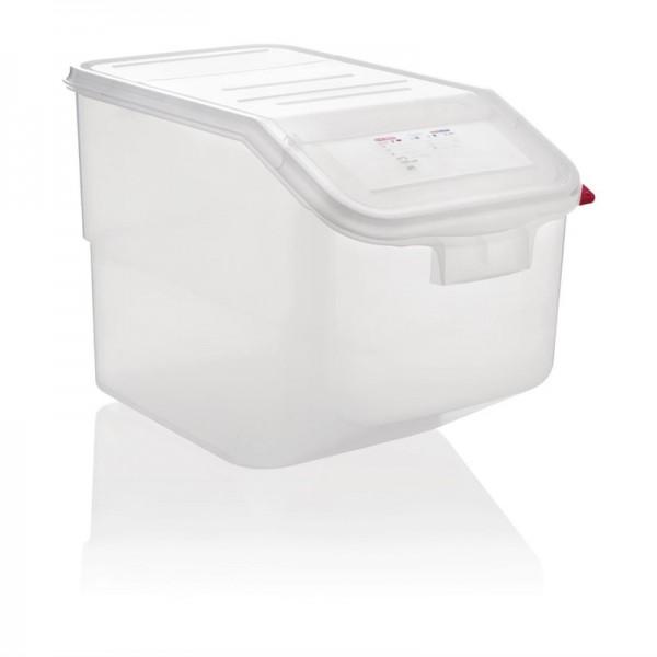 Araven transparenter Zutatenbehälter 50L