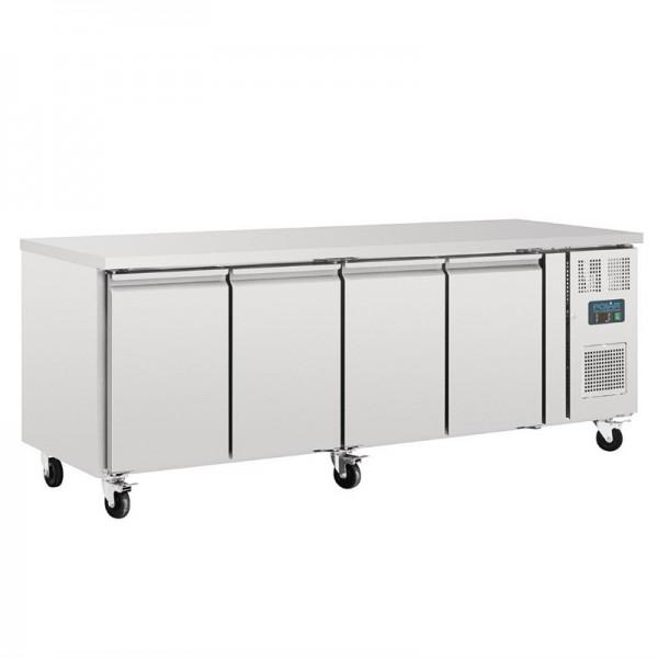 Polar Kühltisch 4-türig 553 Liter