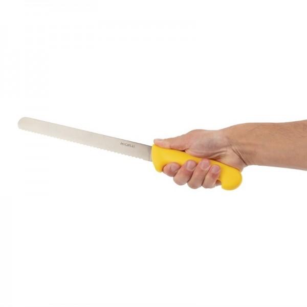 Hygiplas Fleischmesser 25cm gelb