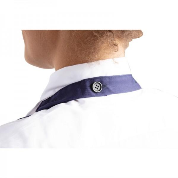 Whites Latzschürze mit V-Ausschnitt dunkelblau