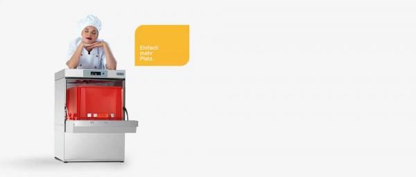 Geschirrspülmaschine D500 DD WS mit Drucksteigerungspumpe Wasserenthärter