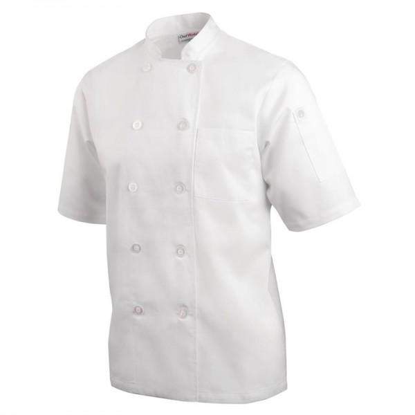 Chef Works Volnay Unisex Kochjacke weiß L