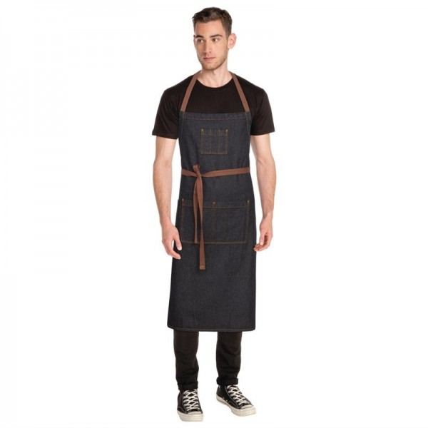 Chef Works Urban Memphis Latzschürze schwarz