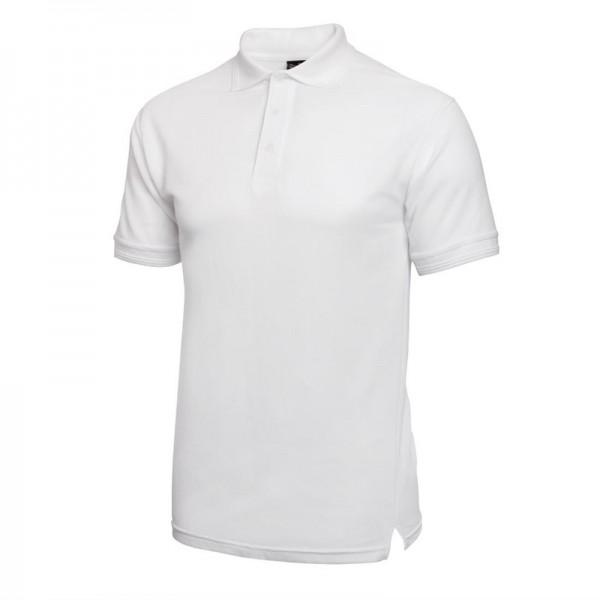 Unisex Poloshirt weiß M