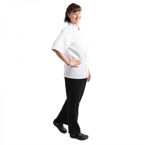 Whites Unisex Kochhose Easyfit Teflonbeschichtet schwarz XL