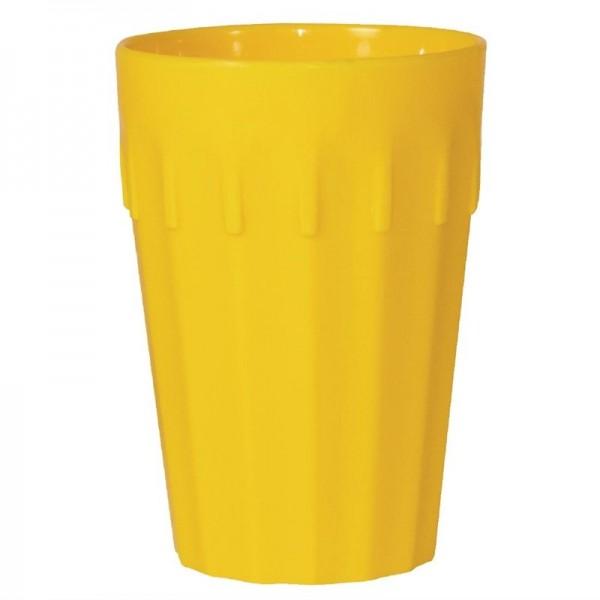 Kristallon Becher gelb 26cl