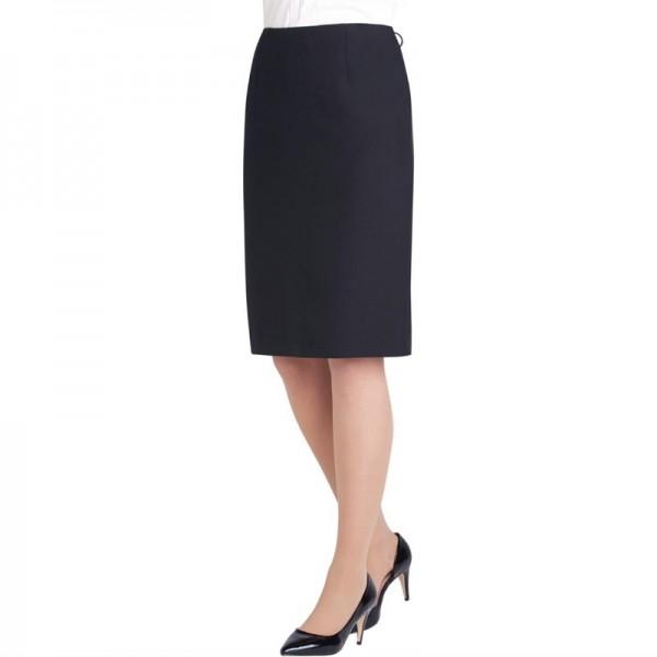 Damenrock schwarz Größe 52
