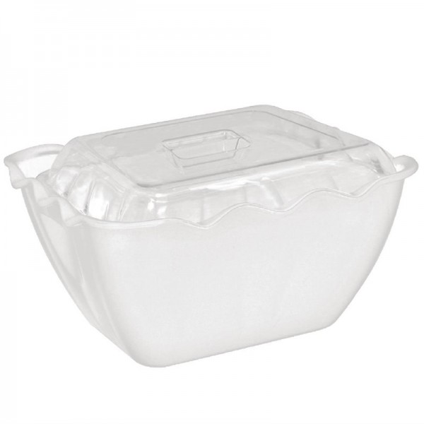 Kristallon hoher Deckel für 75cl Salatschüsseln