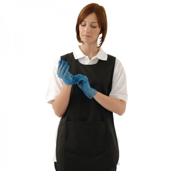 Vogue Vinylhandschuhe blau gepudert XL