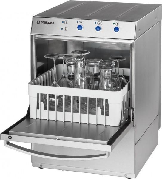 Gläserspülmaschine inkl. Klarspülmittel- und Reinigerdosierpumpe und Ablaufpumpe, 230V, 2,73 kW B 46