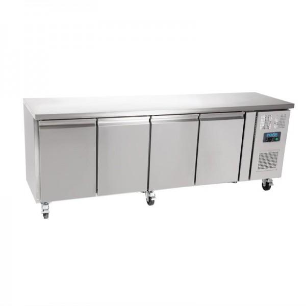 Polar Kühltisch 4-türig 449L