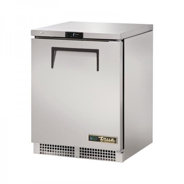 True Edelstahl Kühlschrank Tischmodell 147L