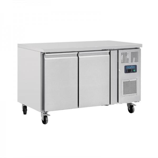 Polar Kühltisch 282 Liter 2-türig